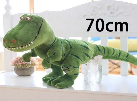 Dinossauro Rex Pelúcia Grande 70cm Pronta Entrega Promoção