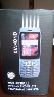 Celular Diamond Motorola Gold Doble Sim