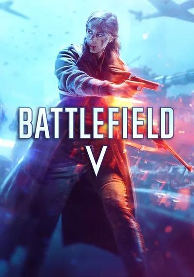 Battlefield V Deluxe Edition + Dlc -pc-dvd(midia Fisica)