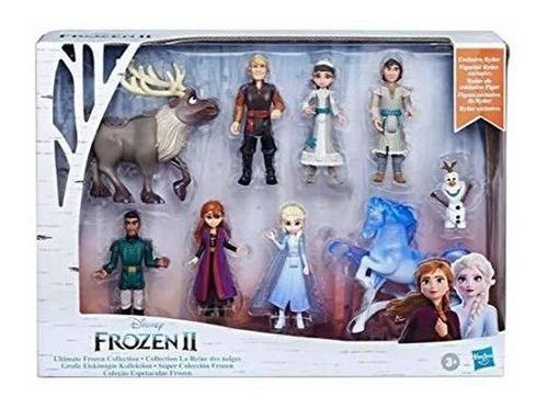 Juego De Coleccion De Muñecas Pequeñas  Disney Frozen