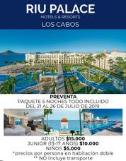 Bloqueo De Habitaciones Hotel Riu Palace Los Cabos