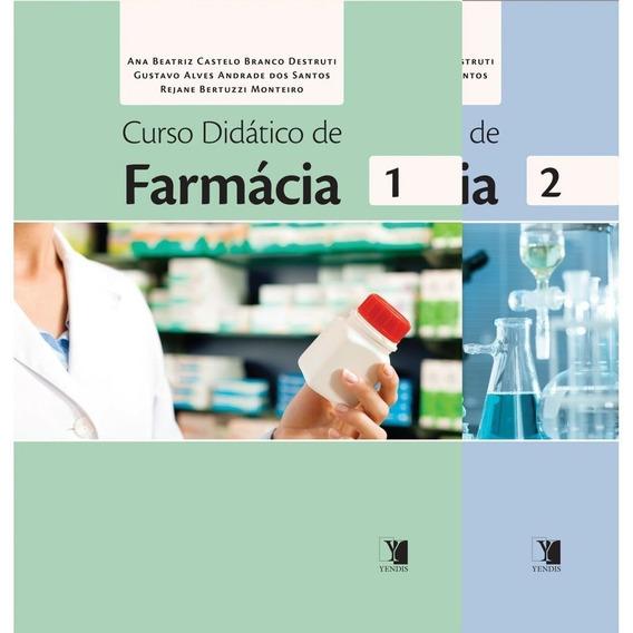 Curso Didático De Farmácia - 2 Volumes