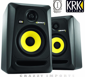 Monitores Krk Rokit 5 Rp5 G3 110v O Par Original + Brindes