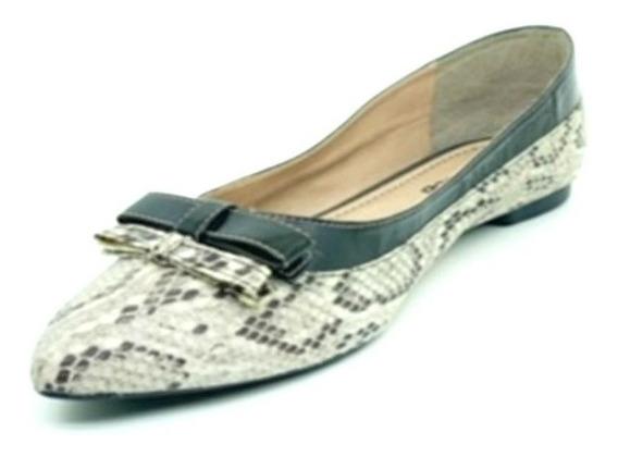 Sapatos Femininos Sapatilha Animal Print Cobra Dani K