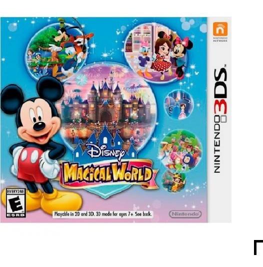 Disney Magical World - 3ds Novo Lacrado - Midia Fisica