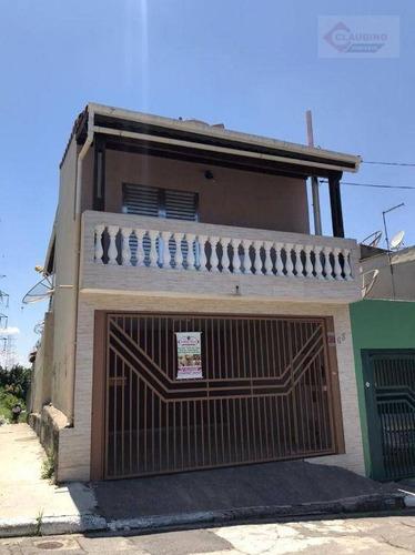 Sobrado Com 3 Dormitórios , Sendo 1 Suite  Para Alugar, 225 M² Por R$ 3.000/mês - Jardim Vila Formosa - São Paulo/sp - So1285