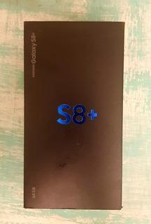 Caja Original Samsung S8+ 64gb Duos Midnight Black