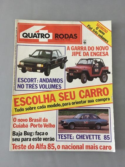 Revista Quatro Rodas - Novembro 1984 - Nº 292 Jibe Escort