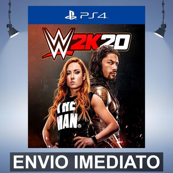 Wwe 2k20 - Ps4 Código 12 Dígitos Playstation 4