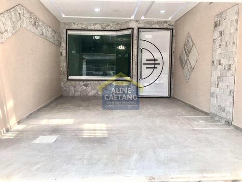 Imagem 1 de 18 de Sobrado Novo 2 Dorms, Caiçara, R$468 Mil, Jga1431 - Vjga1431