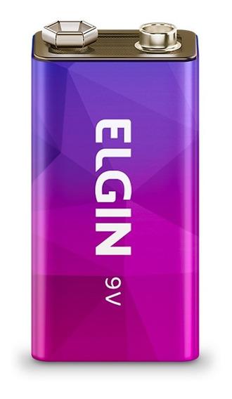 Bateria Recarregavel 9v 250 Mah Elgin Original - Imperdível