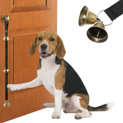 Imagen 1 de 5 de Campanas De Puerta Ajustable Para Perro Entrenamiento Allana