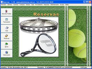 Software Para Reservas De Canchas, Futbol, Padel, Tenis, Etc