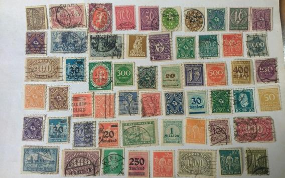 Para Coleccionistas Lote Estampillas Alemania Imperio Reich