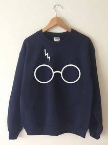 Blusa Moletom Harry Potter Óculos Cicatriz Unissex