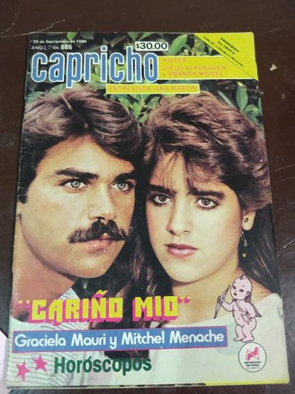 Graciela Mauri Y Mitchel Menache En Fotonovela Capricho