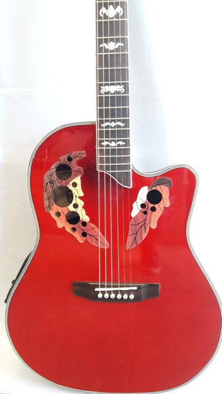 Guitarra Electroacústica Tipo Ovation Con Ecualizador