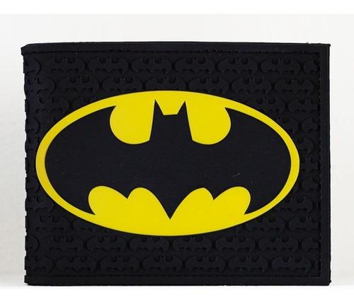 Billetera Batman Escudo Uniforme Cartera Importada Flexible