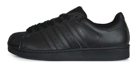 Negras Y Blancas Calzado Adidas Originals Superstar 2