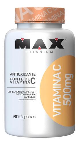 Vitamina C 500 Mg Max Titanium 60 Caps