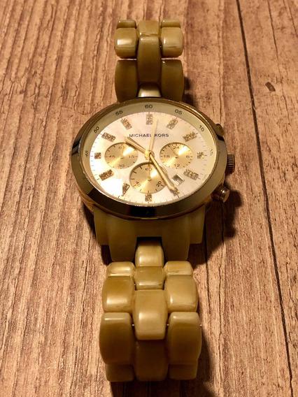 Relógio Michael Kors Dourado Mk5217 - Madrepérola - Original