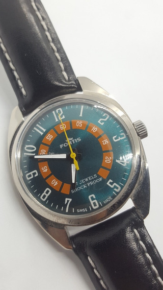 Relógio Fortis Prodanox Corda Manual