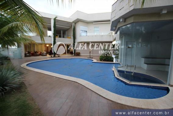 Sobrado Com 6 Dormitórios À Venda, 1100 M² Por R$ 5.800.000 - Residencial Alphaville Flamboyant - Goiânia/go - So0289