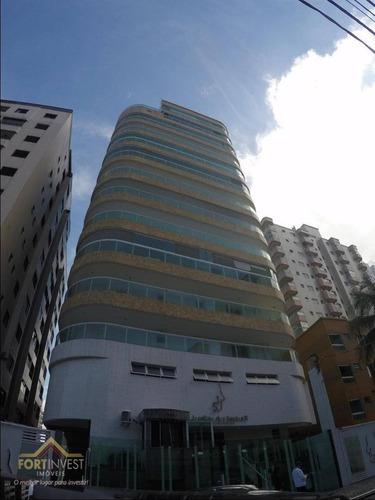 Imagem 1 de 28 de Apartamento Com 3 Dormitórios Para Alugar, 162 M² Por R$ 4.000,00/mês - Tupi - Praia Grande/sp - Ap2182