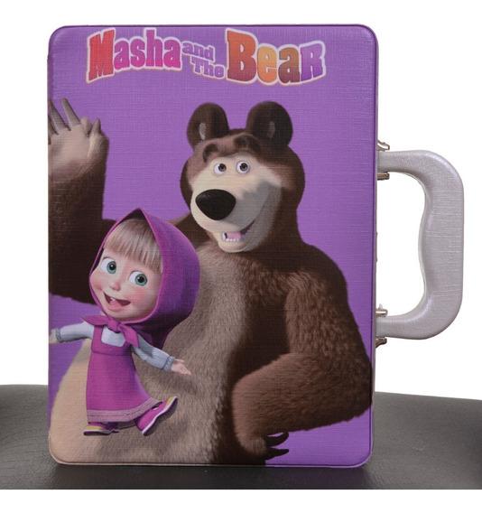Estojo Álbum Masha E O Urso 15x21 120 Fotos
