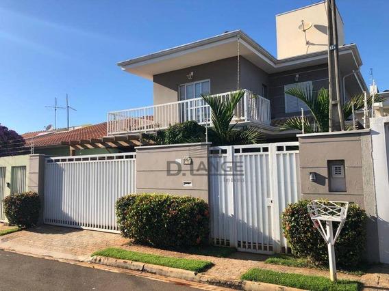 Casa Com 3 Dormitórios À Venda, 129 M² Por R$ 680.000 - Residencial Terras Do Barão - Campinas/sp - Ca13215