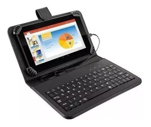 Tablet Multilaser M7s Plus Nb283 Tela 7 Com Teclado Preto