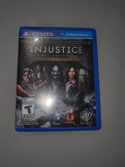 Injustice Gods Among Us: Ue - Ps Vita - Mídia Física