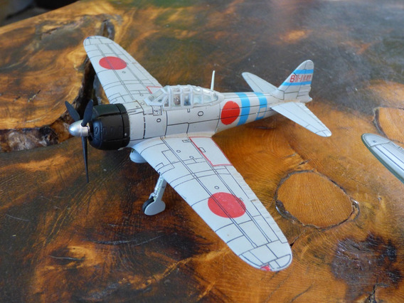 Miniatura Avião A6m Zero Force Of Valor Unimax Pearl Harbor