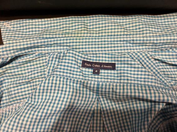 Camisa Vichy T4