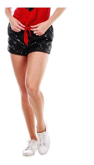 Shorts Boxer De Paetê Tendencia Shorts Verão Com Bolso Frete