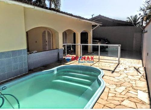 Casa Com 3 Dormitórios À Venda, 300 M² Por R$ 780.000,00 - Jardim Virginia - Guarujá/sp - Ca0289