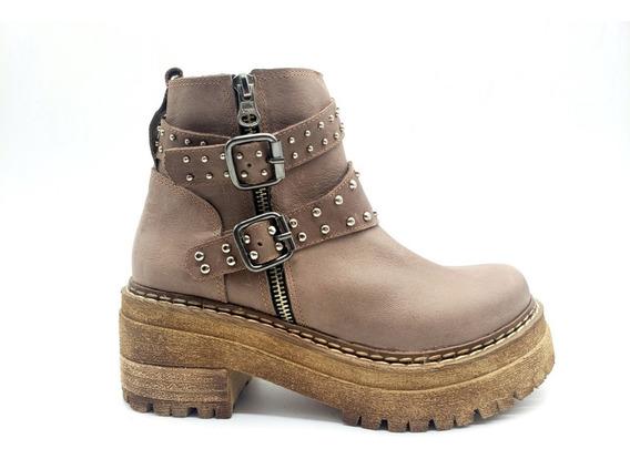 Botas Zapatos Borcegos Tachas Cuero Invierno Rio-51 Savage