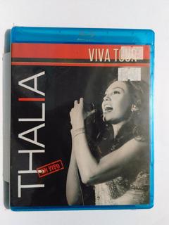 Thalia - Viva Tour En Vivo / Blu Ray + Cd Nuevo