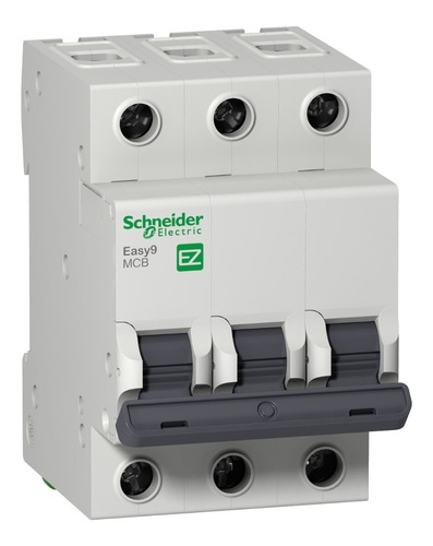 Interruptor Aut. Termomagnético Easy9 Tripolar 50a Curva C