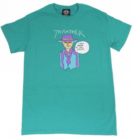 Playera Thrasher T-shirt Gonz Cash Jade