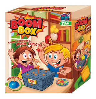 Boom Box Calma Y Precision Juego De Mesa Original Ik0019