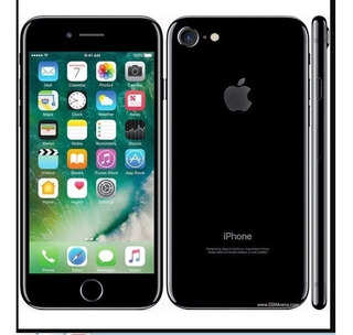 iPhone 7 128gb Vitrine Original Preto Brilhante Leia