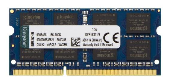 Memória RAM 8 GB 1x8GB Kingston KVR16S11/8
