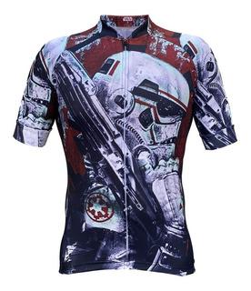 Jersey Star Wars Storm Trooper Bici Ruta Bmx Mtb Ciclismo