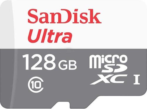 Memoria Micro Sd Sandisk Ultra 128gb Clase 10 Tienda Física