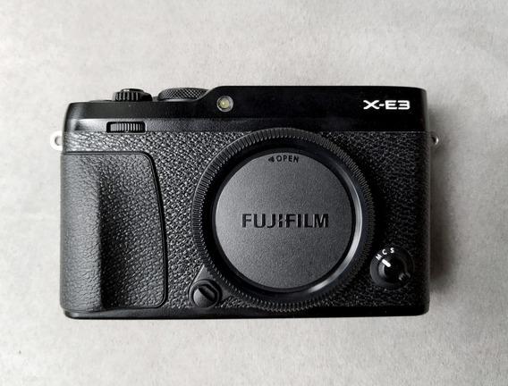 Câmera Fujifilm X-e3 Zerada Fuji Como X-t20 X-t2 X-pro2