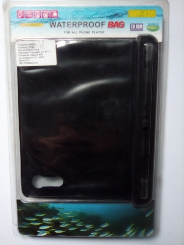 Imagen 1 de 7 de Waterproof Bag Bolsa A Prueba De Agua Para Celulares Y iPad