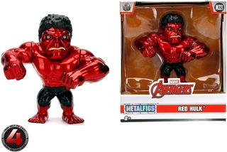 Red Hulk Metals Jada Toys Avengers Marvel