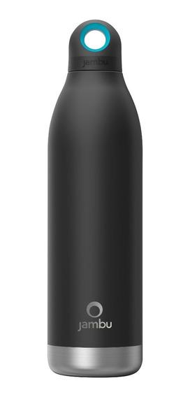 Termo / Botella Térmica Jambu De 550 Ml/18 Oz Color Negro.