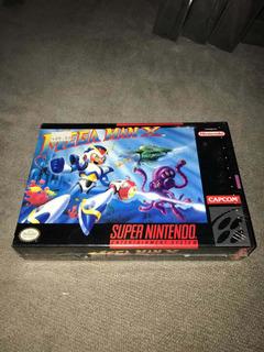 Megaman X Super Nintendo Snes!!! Sellado De Fábrica, Nuevo